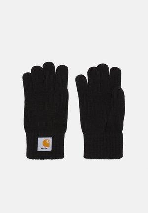 WATCH GLOVES UNISEX - Gloves - black
