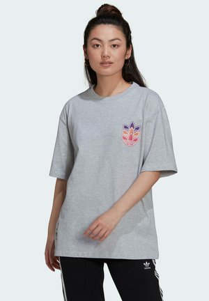 GRAPHIC  RELAXED - T-shirt print - grey