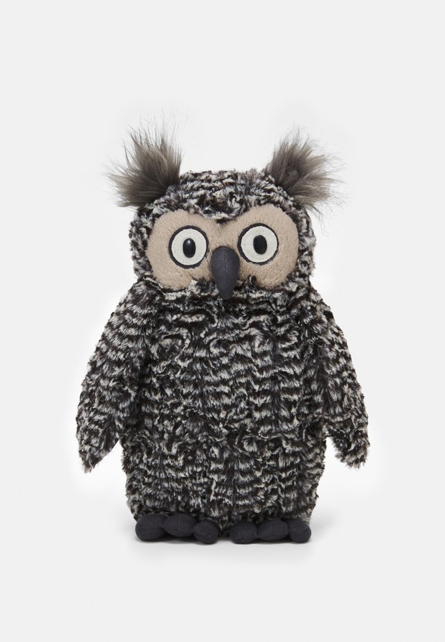 OTI OWL - Pehmolelu - black