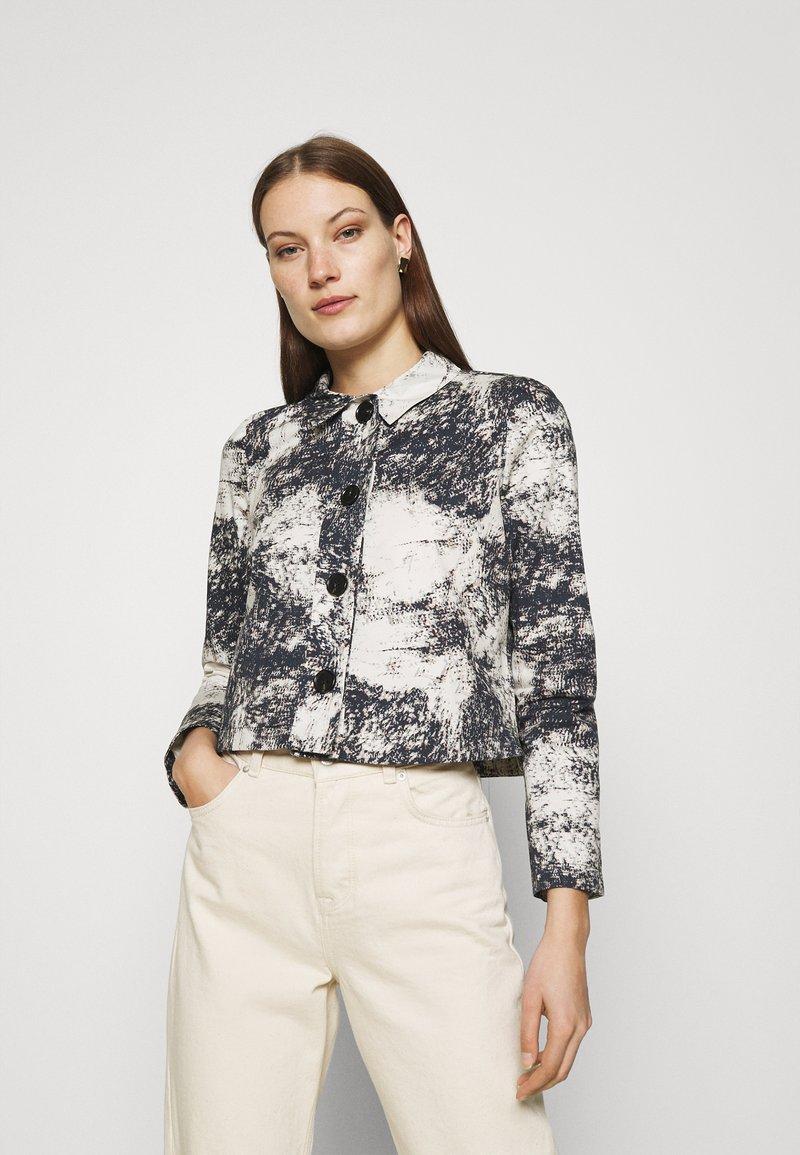 ALIGNE - CHYNA - Denim jacket - marble