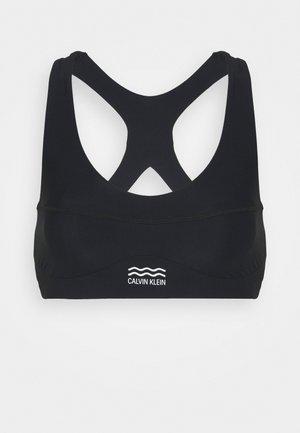 CORE POOL BRALETTE - Bikini top - black