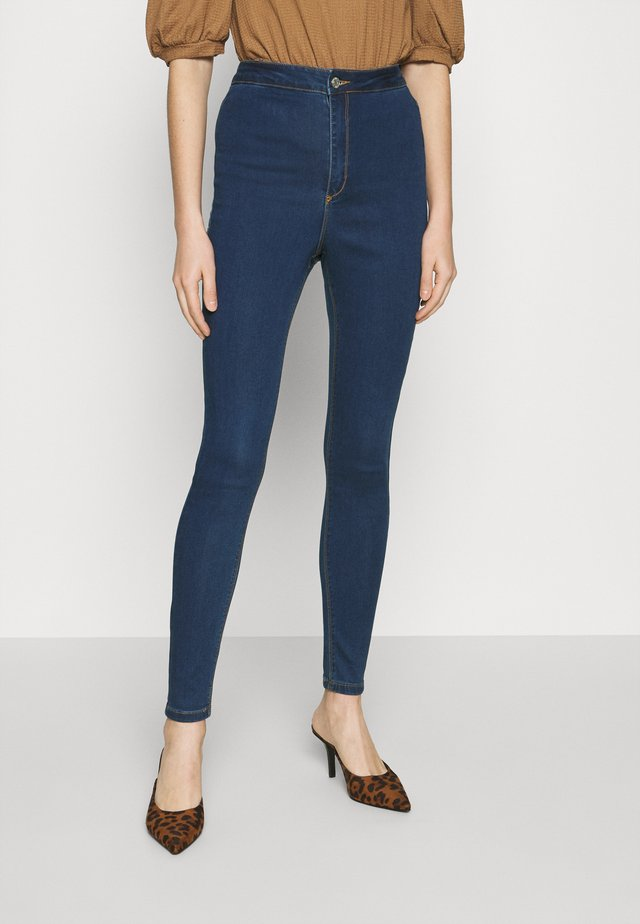 VICE HIGH WAISTED - Jeans Skinny - indigo