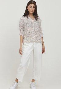 b.young - BYFLAMINIA - Button-down blouse - fuchsia pink mix - 1