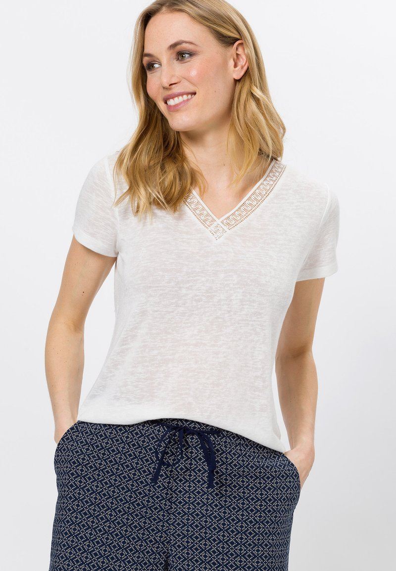 zero - Basic T-shirt - offwhite
