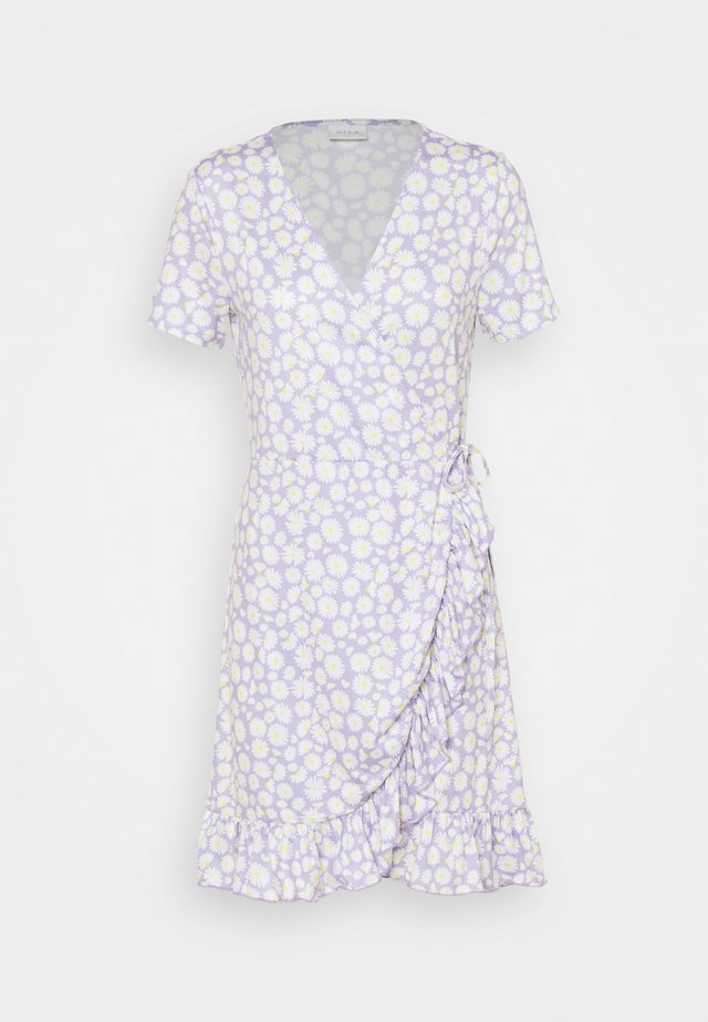 VILINDA DRESS - Korte jurk - lavender