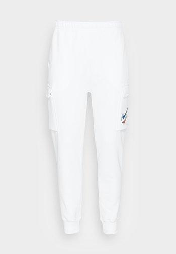 CARGO PANT - Träningsbyxor - white