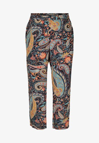 MIT PAISLEY PRINT - Trousers - paisley aop