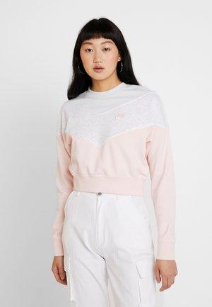 Sweatshirt - echo pink/pure platinum/birch heather