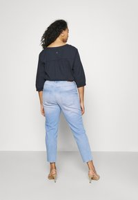 ONLY Carmakoma - CARENEDA LIFE MOM BABY  - Jeans relaxed fit - light blue denim - 2