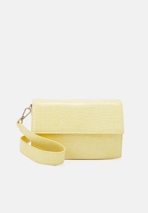 JENNA BAG - Across body bag - yellow