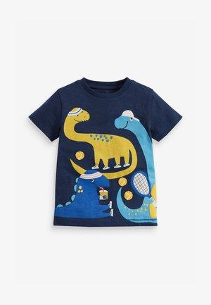 APPLIQUÉ  - Print T-shirt - dark blue