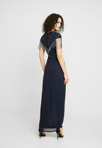 Lace & Beads - SAVANNA WRAP MAXI - Occasion wear - navy - 3