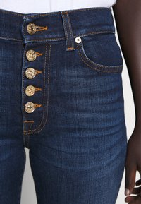 7 for all mankind - THE CROP - Straight leg jeans - dark blue - 5