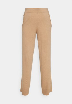 TROUSERS - Tracksuit bottoms - almond