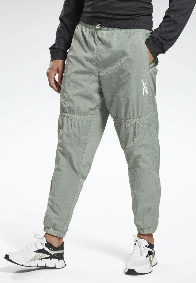 MYT OLLIE JOGGERS - Tracksuit bottoms - green