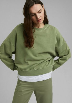 FLOW - Sweatshirt - light khaki