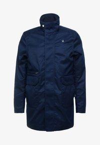 G-Star - GARBER SERVICE TRENCH - Short coat - sartho blue - 4