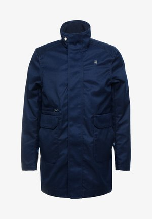 GARBER SERVICE TRENCH - Short coat - sartho blue