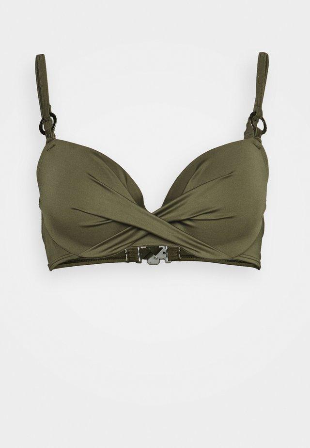 KALAMA - Bikini pezzo sopra - green