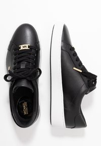 MICHAEL Michael Kors - IRVING LACE UP - Trainers - black - 3