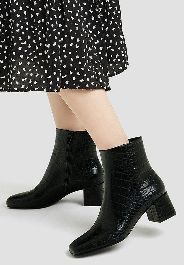 Korte laarzen - dark grey