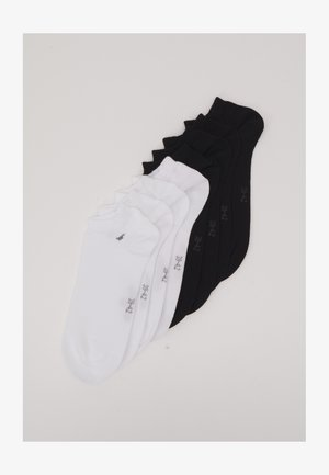 SNEAKER BASIC 8 PACK - Calcetines - black