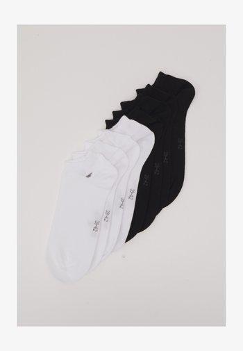 SNEAKER BASIC 8 PACK - Socks - black