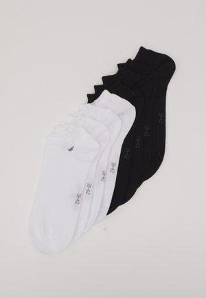 SNEAKER BASIC 4 PACK - Socks - black