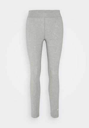 Leggings - Trousers - grey heather/white