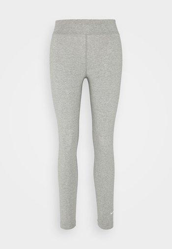 Leggings - Trousers - grey heather/white