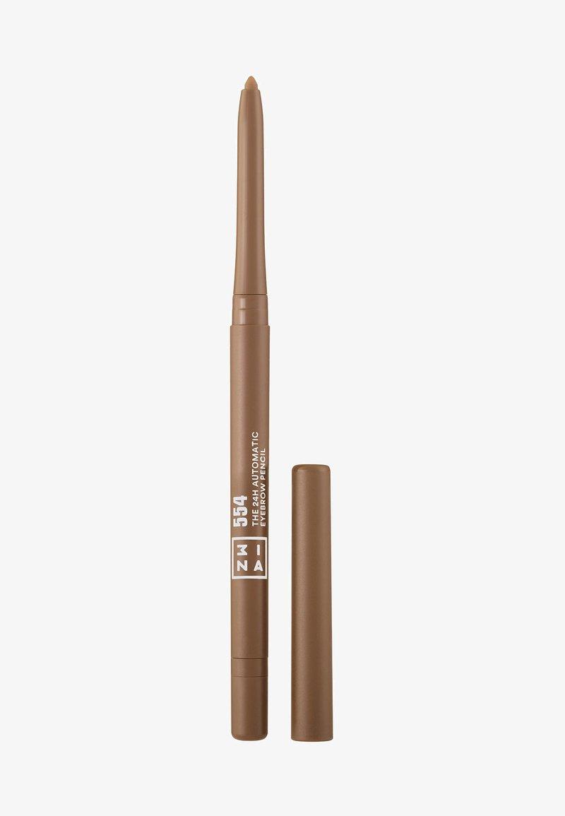 3ina - THE 24H AUTOMATIC EYEBROW PENCIL - Matite sopracciglia - 554 caramel