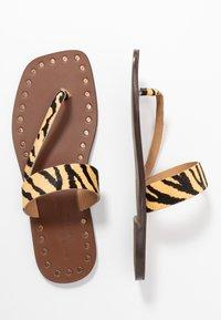 Kurt Geiger London - MYRA - T-bar sandals - cream - 3