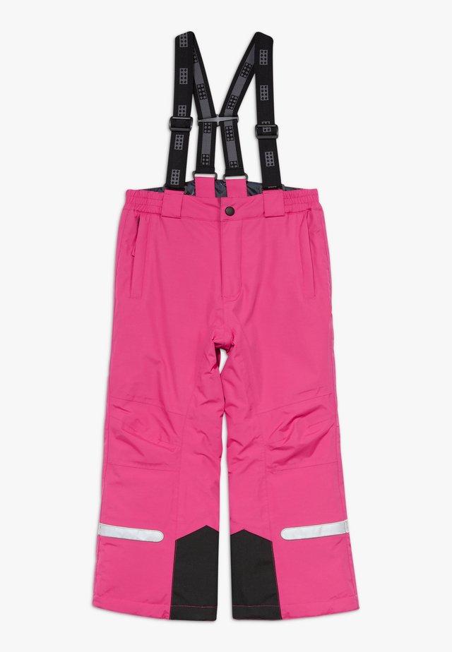 LWPOWAI  - Pantalón de nieve - dark pink