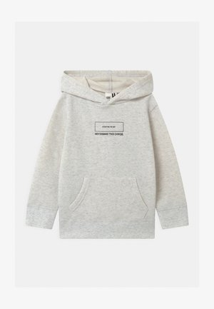 HORIZON HOODIE - Hoodie - mottled light grey
