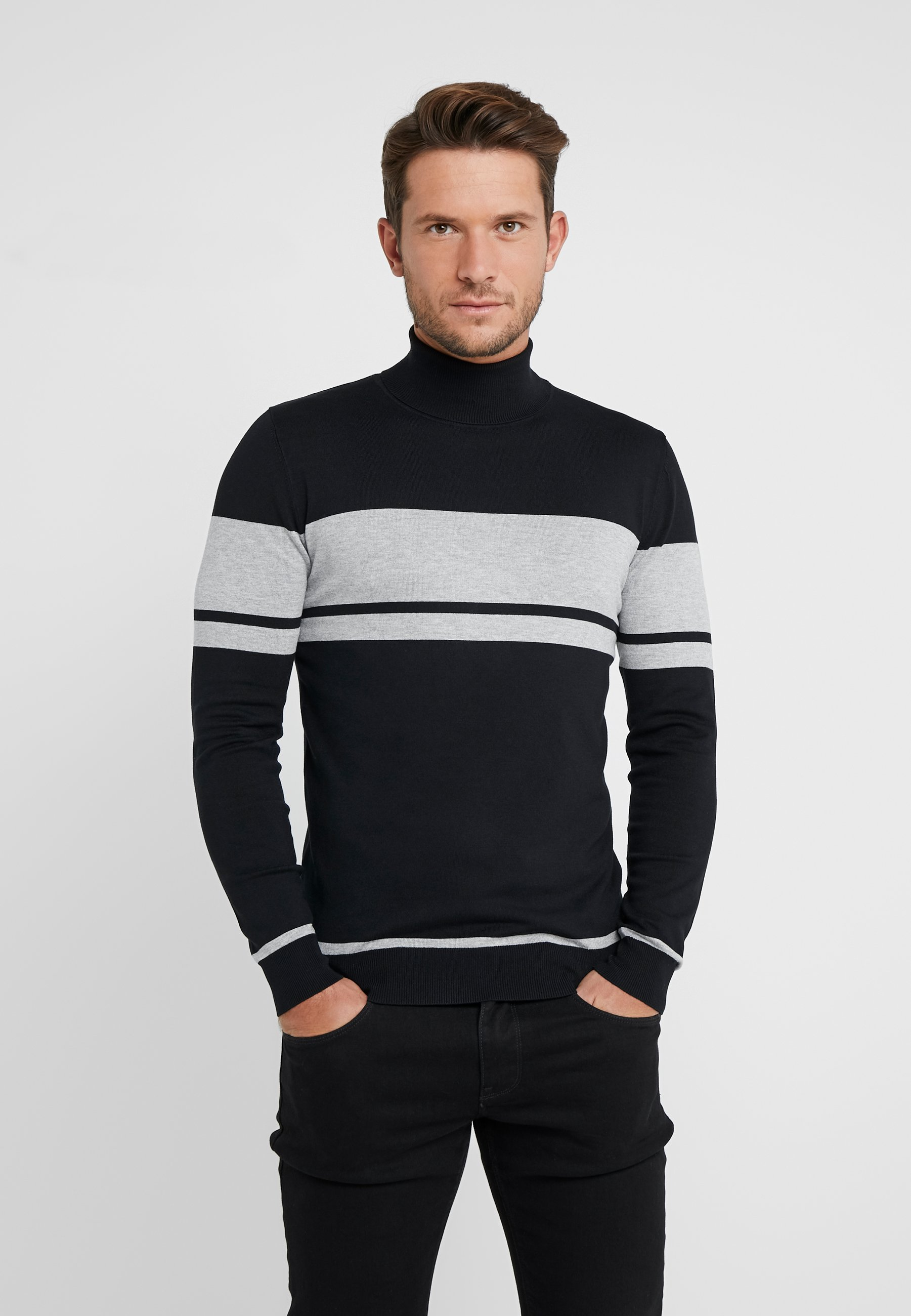 Homme FINE TURTLE NECK - Pullover