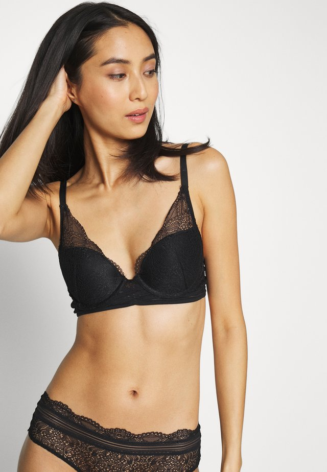 ROAD N*3 TRIANGLE - Soutien-gorge push-up - noir