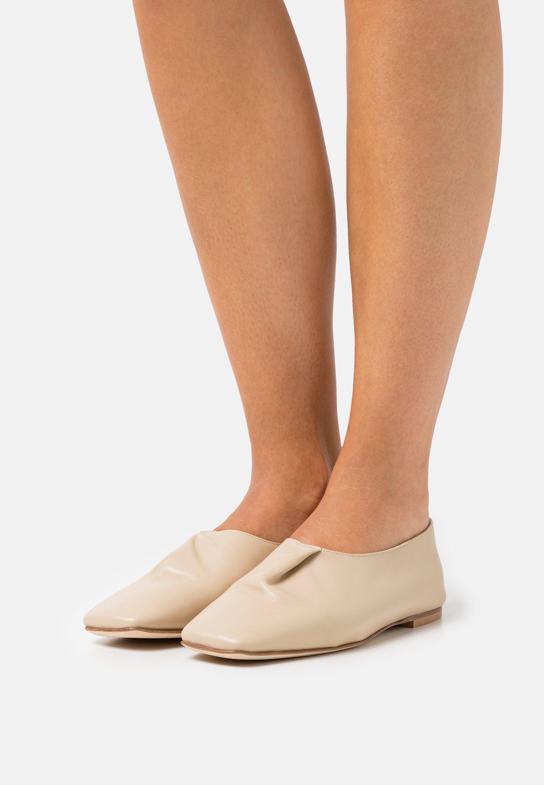 Women FOLD GREIGE - Slip-ons