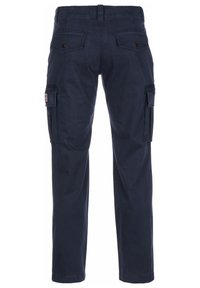 Tommy Jeans - HOSE STRAIGHT CARGO - Cargo trousers - twilight navy - 1