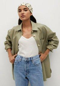 Mango - HAVANA - Straight leg jeans - middenblauw - 3