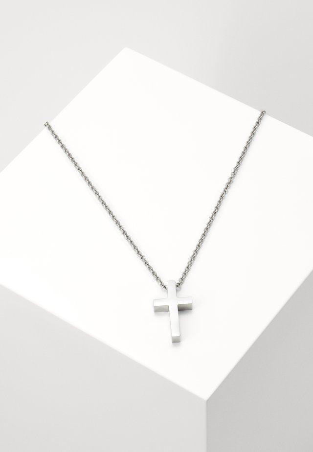 AUTOMATED NECKLACE - Collier - silver-coloured