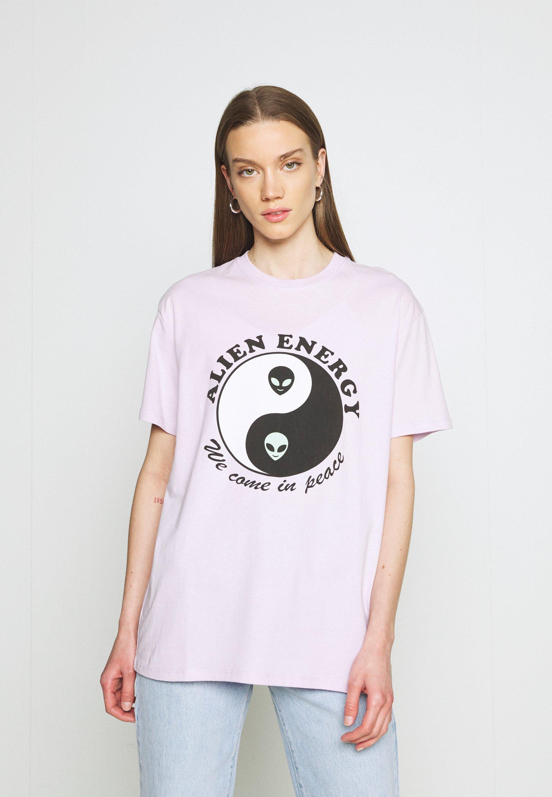 Women ALIEN ENERGY TEE - Print T-shirt