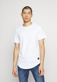 Only & Sons - 3 PACK - T-shirt basic - black/white/light grey melange - 1