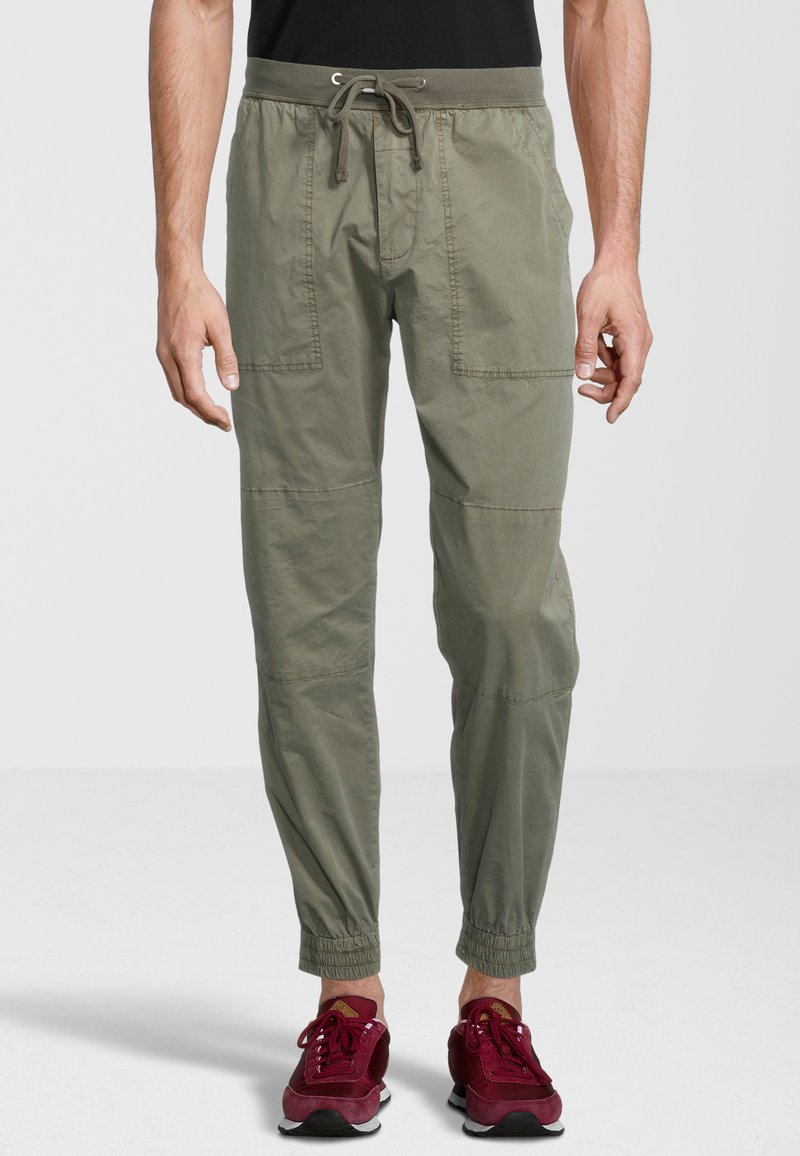 Replay - Tracksuit bottoms - military