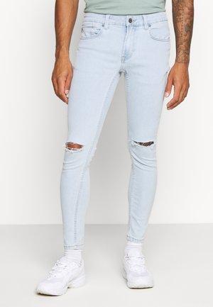 ONSWARP KNEE CUT - Skinny džíny - blue denim