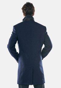 Engbers - Classic coat - blau - 2