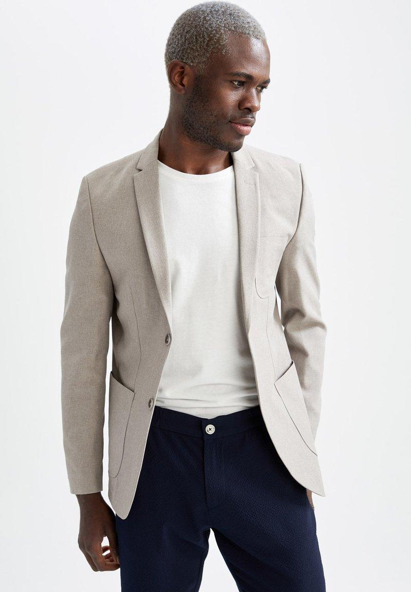DeFacto - Blazer jacket - beige