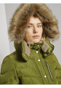 TOM TAILOR - SIGNATURE PUFFER COAT - Winter coat - wood green - 3