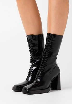 TESTINO - High heeled boots - black box