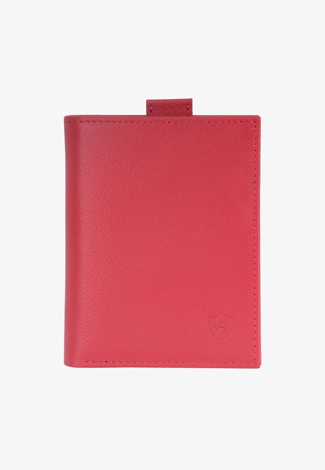 Wallet - rot (genarbt)