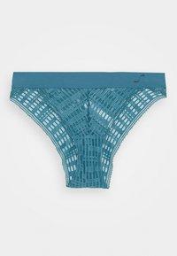 Sloggi - SEVEN LOW RISE CHEEKY - Slip - mineral blue - 4